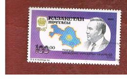 KAZAKISTAN (KAZAKHSTAN)   -  SG 28 -   1993  PRESIDENT N. NAZARBAEV  -   USED - Kazakistan