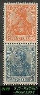 Postfrischer ZDR - Mi. Nr. S 15 - Zusammendrucke