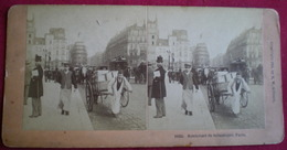 PHOTO STÉRÉOSCOPIQUE - Paris,Boulevard De Sebastopol, Photo B.W Kilburn - Stereoscopio