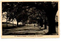 1719. MARCHE EN FAMENNE. LA PROMENADE DU MONUMENT. - Marche-en-Famenne