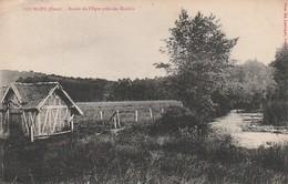 Rare Cpa Fourges Bords De L'Epte Près Du Moulin - Fourges