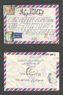 SUDAN. 1988 (18 July) Mad Megani - West Germany. Air Registered Multifkd Env. VF. Manuscript Ilustrated Usage. - Sudan (1954-...)