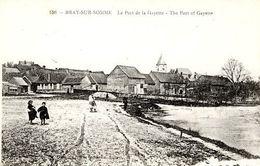 BRAY SUR SOMME (80) - LE PORT DE LA GAYETTE - - Bray Sur Somme