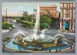 IT. ROMA. ROME. Piazza Esedra. Place Esedra. Old Cars. Bus. - Roma (Rome)