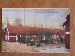BEVERLOO Zicht Op De Bloken Vues Des Blocs Animée  Caserne Camp Militaire Limburg Limbourg Belgique Carte Postale - Beringen