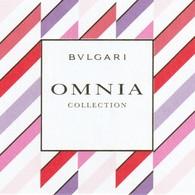 OMNIA De BVLGARI - Perfume Cards