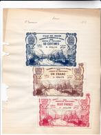 76 - ROUEN - 3 Billets De La Chambre De COMMERCE De ROUEN  édition 1918 - 50 Cts, Un Franc Et 2 Francs PORT Et BATEAUX - Chamber Of Commerce