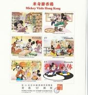 """Grenada, Disney """" Hong Kong  97"""" Set   MNH  Yvert N. 2920/31 - Disney"""