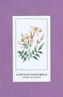 L' ARTISAN PARFUMEUR  **Champ De Fleurs** - Perfume Cards