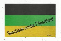Autocollant , Politique , Sanctions Contre L'apartheid - Stickers