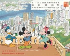 "Grenada, Disney "" Hong Kong  97"" Shet   MNH  Yvert  Bf. N.432/433 - Disney"