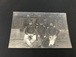 CARTE PHOTO Soldats FRANCHEVILLE Octobre 1914 - Weltkrieg 1914-18