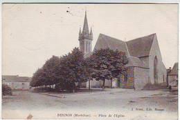56. BEIGNON . PLACE DE L'EGLISE . Cachet Militaire Du 94é REGIMENT D'INFANTERIE . Editeur J. SOREL - Altri Comuni
