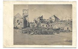 PORT A BINSON - Ruines De L'Eglise - CARTE PHOTO - France