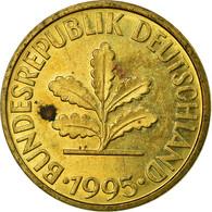 Monnaie, République Fédérale Allemande, 10 Pfennig, 1995, Stuttgart, TB+ - 10 Pfennig