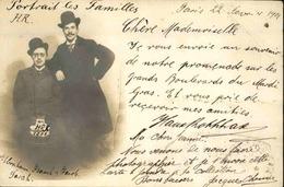 PHOTO - Carte Postale Photo - Famille Parisienne En 1901 - L 29631 - Photographie