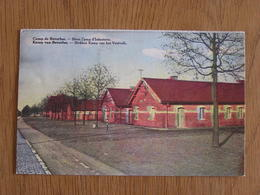 BEVERLOO Blokken Kamp Van Het Voetvolk Blocs Camp D'Infanterie Caserne Militaire Limburg Limbourg Belgique Carte Postale - Beringen