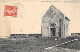 St Vaast La Hougue  - Chapelle Des Marins -   Circulé - Saint Vaast La Hougue