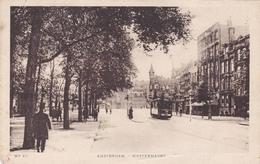 Amsterdam Westermarkt # 1934 Volk Tram    127 - Amsterdam