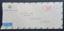 GE - Lebanon Conulate On Brasil Sao Paolo 1961 Official Cover Sent To Beirut - Lebanon