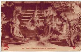 CPA LAOS - Une Scène De Théâtre De Luang-Prabang - Laos