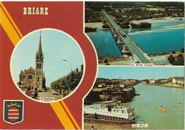 PENICHES - BRIARE - Vues Avec Péniches - Houseboats