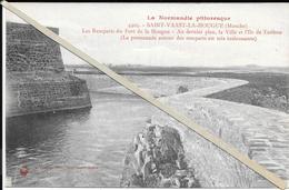St Vaast La Hougue  - Fort De La Hougue  - Non  Circulé - Saint Vaast La Hougue