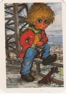 PORTUGUESE CALENDAR POCKET - 1992 - ILUSTRATED BY MICHEL THOMAS - Calendars