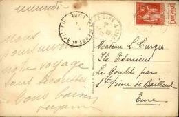 FRANCE - Type Paix Avec Bande Publicitaire Sur Carte Postale De Montpellier - L 29641 - Advertising
