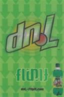 7-Up Soda Pop Advertisement 'Flip It', C2000s Vintage Max Rack Lenticluar '3-D' Postcard - Advertising