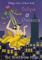 'Tulips & Pansie', Drag Queen Performance, New York City C2000s Vintage Max Rack Postcard - Unterhaltung
