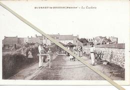 St Vaast La Hougue  - La Corderie   - Non  Circulé - Saint Vaast La Hougue