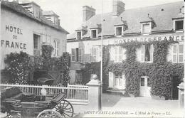 St Vaast La Hougue  - Hotel De France    - Non  Circulé - Saint Vaast La Hougue