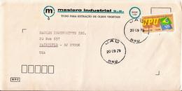 Postal History Cover: Brazil Stamp On Cover - U.P.U.
