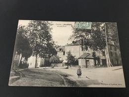 220 - Correze - ALLASSAC Grande Place - 1900 Timbrée - Autres Communes