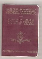 Passeport Belge (1991) - Old Paper