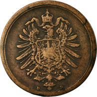 Monnaie, GERMANY - EMPIRE, Wilhelm I, Pfennig, 1889, Munich, TTB, Cuivre, KM:1 - [ 2] 1871-1918 : Empire Allemand