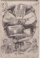75 Paris Une Pensee  Militaires 1916 - Autres