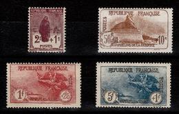 YV 229 à 232 N* 3eme Orphelins Complete , Le 232 TTB Centré, Cote 210+ Euros - France