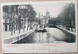Nederland Amsterdam 1902 Voorburgwal - Paesi Bassi