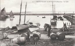 St Vaast La Hougue  - La Cale - Reparation Des Tonneaux     -  Non  Circulé - Saint Vaast La Hougue