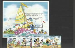 Caicos Islands, Disney  - Set E Shet MNH Anno 1984 - Disney