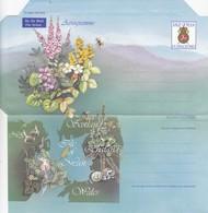 ISLE OF MAN - AEROGRAMME  / 2 - Isle Of Man
