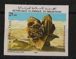Mauritanie - 1982 - N°Yv. 513C - Rose Des Sables - Non Dentelé / Imperf. - Neuf Luxe ** / MNH / Postfrisch - Minerales