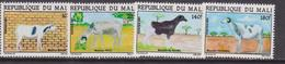 Mali - Animals Farm  Set  MNH - Agricoltura