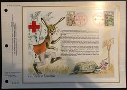 France Document - FDC - Premier Jour - Croix Rouge - YT Nº 2024 Et 2025 - 1978 - FDC