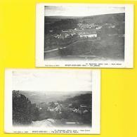 NOIZY Sur OISE 2 Cpa Vues Générales (Moutardier Billard) Val D'Oise (95) - Francia