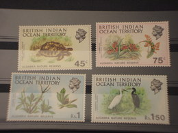 BRITISH OCEAN INDIAN - 1971  FAUNA 4 VALORI - NUOVI(++) - Oceania (Other)