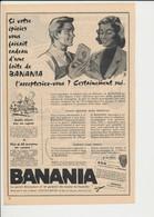 2 Scans Presse 1959 Publicité Banania  Et Découpage En Carton Garage Automobile Jouet D'enfant Banania Souver Nop 226CH3 - Sin Clasificación