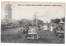 SAINTE-ADRESSE - Pelouse De La Maison Rouge, MALBEC, Propriétaire (beau Cliché Animé) - Sainte Adresse